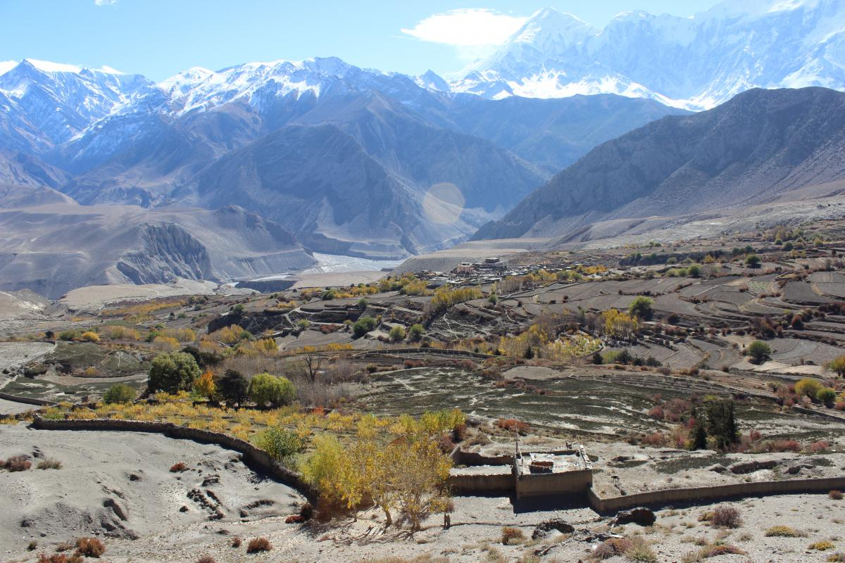 Short essay on the land and people of Nepal
